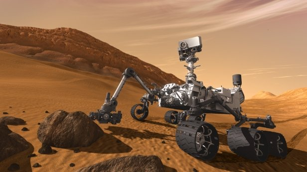 Третий метеорит из металла нашел на Марсе Curiosity