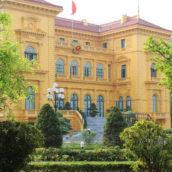Парк где музей Хо Ши Мина
