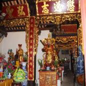 Буддийский храм внутри
