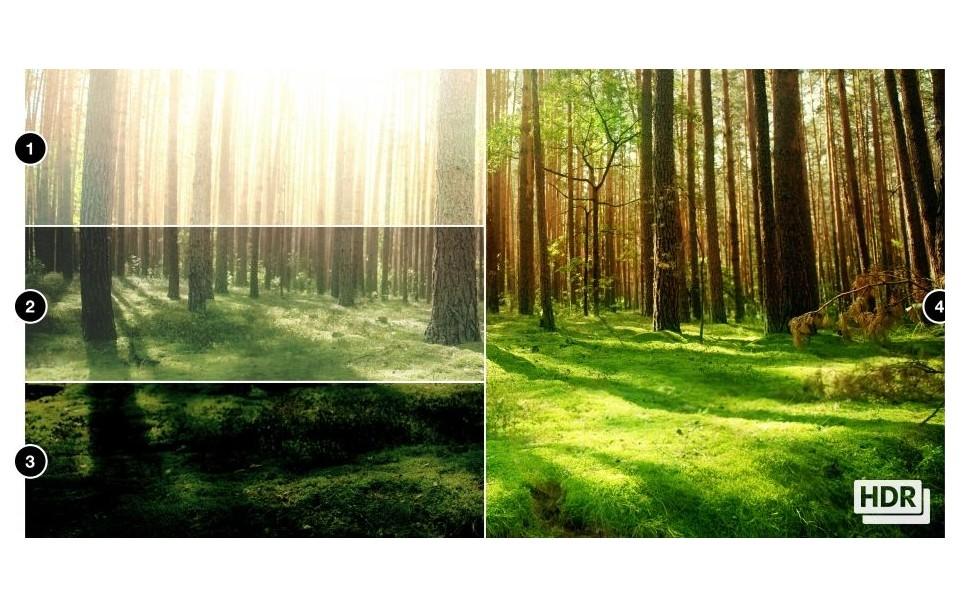 HDR режим (от англ. High Dynamic Range – высокий динамический диапазон) – это специальный метод съемки фото