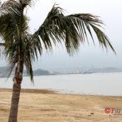 Вид с пляжа Холидей вилла