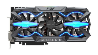 ZOTAC готовит видеокарту GeForce GTX 1080 Ti PGF Edition